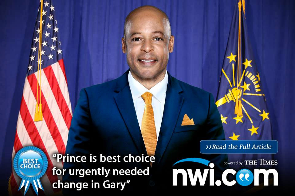 Jerome Prince is the best choice for Gary.